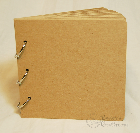 Bulk of quot x bare chipboard album pages rings